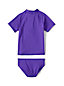 Toddler Girls' Smart Swim Graphic Rash Vest Set
