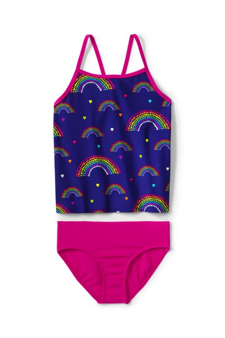Girls Plus Tankini Swimsuit Set