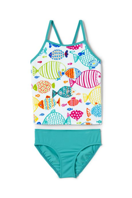 Girls Tankini Swimsuit Set