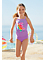 Girls' Smart Swim Graphic Tankini