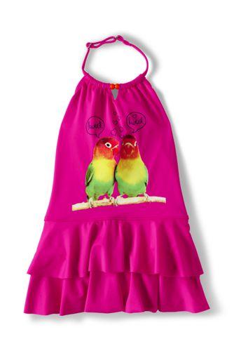 Little Girls' Halterneck Swimsuit