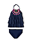 Little Girls' Tiered Ruffle Tankini