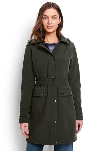 Women's Plus Softshell Coat