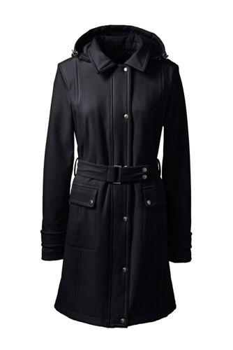 Le Manteau Softshell à Ceinture, Femme Stature Standard