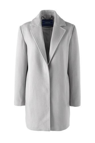 Mantel aus softem Wollmix