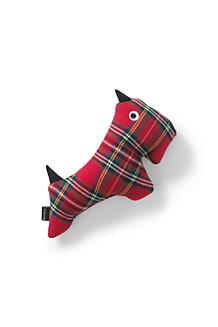 Plaid Scottie Dog Toy