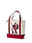 Women's Santa Embroidered Tote Bag