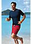 Le T-Shirt de Bain Bicolore, Homme Stature Standard