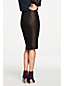 Women's Shimmer Pencil Skirt