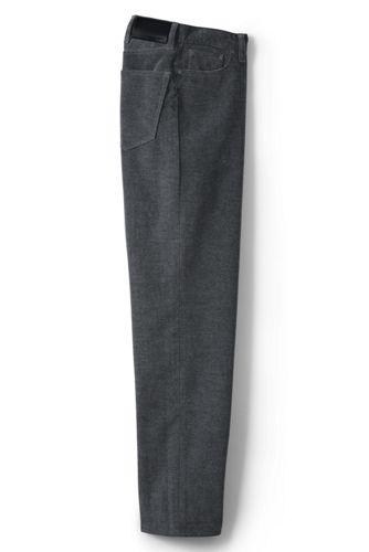 Men's Traditional Fit Flannel Lined Corduroy Pants from Lands' End