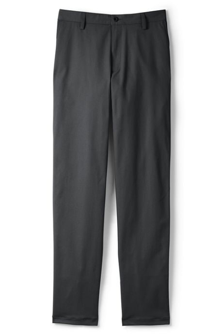 Men's Tall Tailored Plain Front Chino Pants