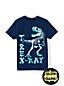 Grafik-Shirt mit Leuchtmotiv für Baby Jungen