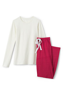 Women's Jersey Patterned Pyjama Set