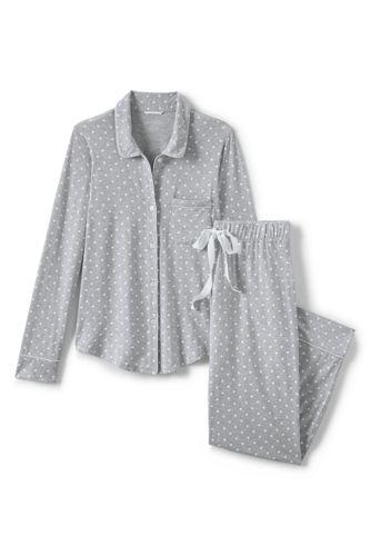 Gemustertes Pyjama-Set für Damen