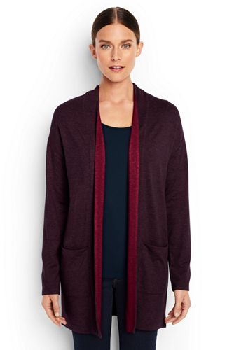 Women's Regular Luxe Jersey Cardigan