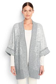 Women's Ombre Dolman Sleeve Cardigan