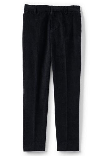 Le Pantalon Uni en Velours Côtelé, Garçon