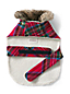 Medium Knit Plaid Dog Coat