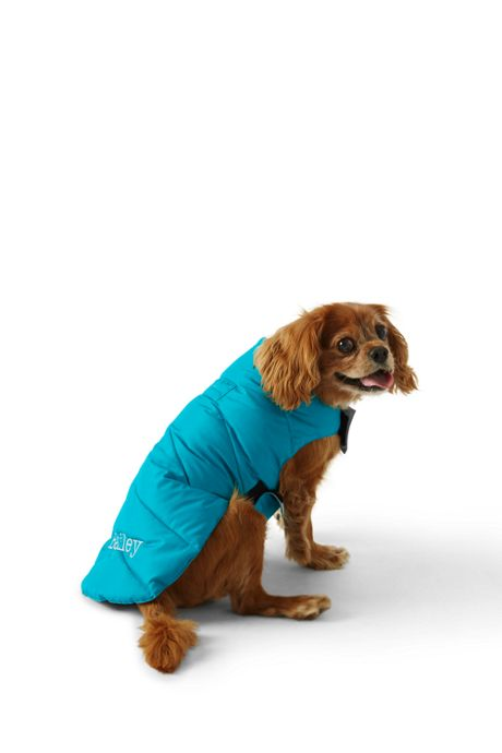 Solid Dog Coat Puffer Vest