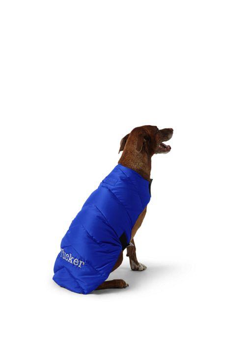 Solid Dog Puffer Vest