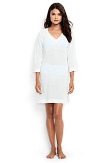 Women's Cotton Crepe Beach Cover-up