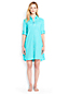 Women's Regular Boyfriend Shirtdress Beach Cover-up