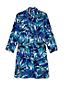La Robe Chemise Boyfriend de Plage à Motifs, Femme Stature Standard