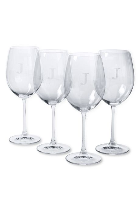 Red Wine Glasses (Set of 4)