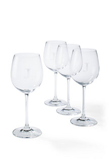 Fine Bavarian Crystal White Wine Glass Set