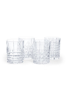 Fine Bavarian Cut Crystal Whiskey Tumbler Set