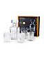 Fine Bavarian Crystal Whiskey Decanter Set