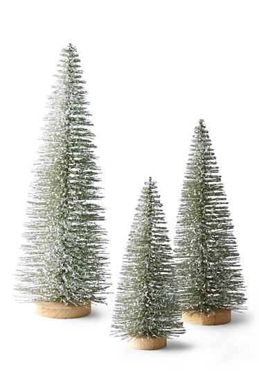 bottle brush decorative christmas trees - Bottle Brush Christmas Tree
