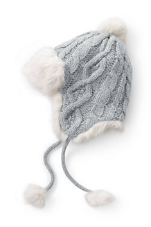 Women's Chunky Cable Peruvian Hat