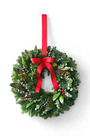 "18"" Eucalyptus Berry Christmas Wreath"