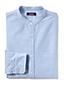 Men's Grandad Collar Oxford Shirt - Tailored Fit