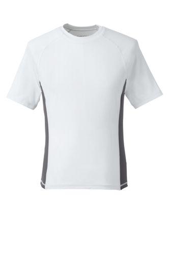 Le T-Shirt de Bain Blanc, Homme Stature Standard