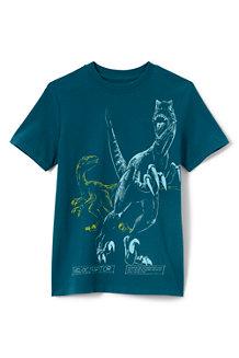Grafik-Shirt mit Rundum-Print für Jungen