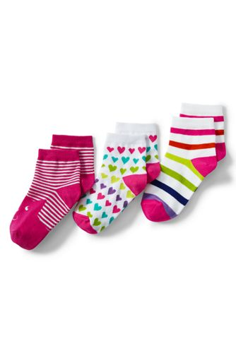 Girls' Novelty 3PK Ankle Socks