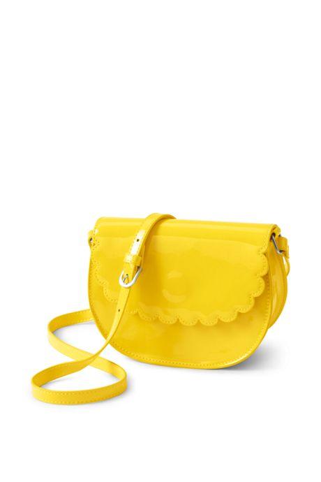 Girls Scalloped Crossbody Bag