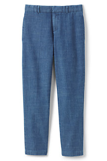 Boys' Tailored Chambray Trousers