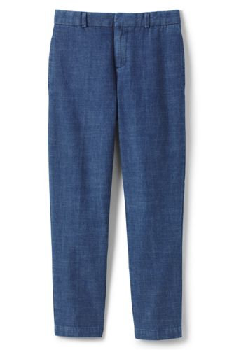 Little Boys' Tailored Chambray Trousers