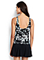 Women's Regular Shape & Enhance Twist Front Floral Print Tankini Top