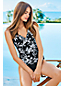 Shaping Tankini-Top mit Knotendetail Floral