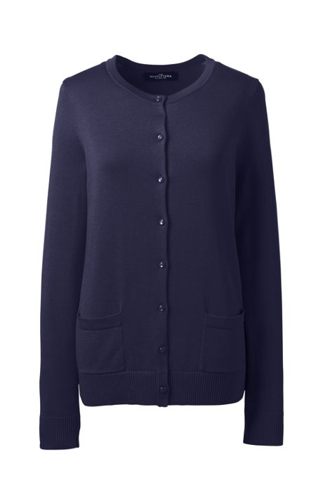 Women's Cotton Modal Crew Cardigan