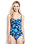 Women's Regular Bandeau Floral Print Slender Swimsuit