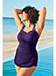 Women's Plus Slender Tunic Ombre Swimsuit