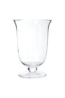 Large Glass Hurricane Vase
