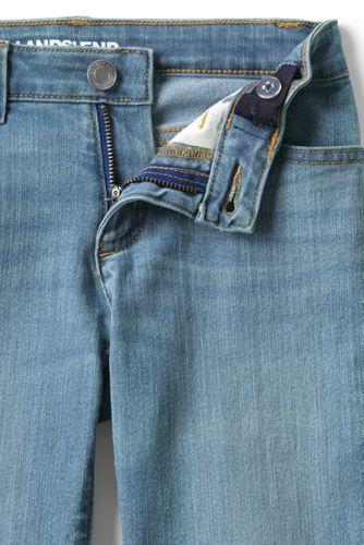 Girls Denim Bermuda Jean Shorts
