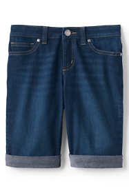 Little Girls Denim Bermuda Short
