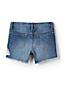 Little Girls' Denim Fringe Shorts
